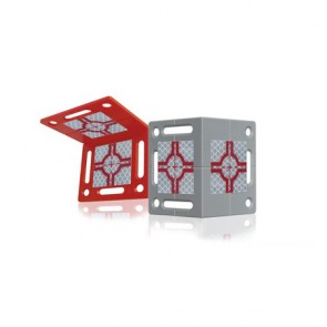 Rothbucher RS80 Winkel-Vermessungs-Plakette mit Reflexzielmarke