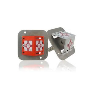 Rothbucher RSAMG80 Adapter mit Winkel-Vermessungs-Plakette und Gewinde