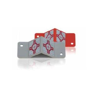 Rothbucher RSAK130 Kunststoff-Platte mit Winkel-Vermessungs-Plakette