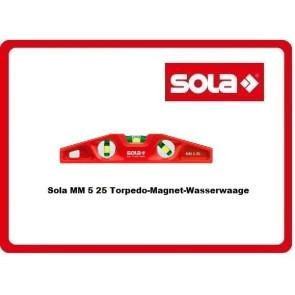 Sola MM 5 25 Torpedo-Magnet-Wasserwaage