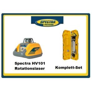 Spectra HV101 Rotationslaser Komplett-Set