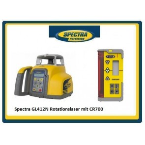 Spectra GL412N Rotationslaser mit CR700