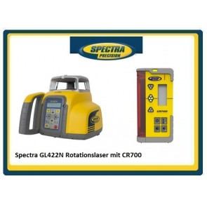 Spectra GL422N Rotationslaser mit CR700