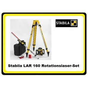 Stabila LAR 160 Rotationslaser-Set