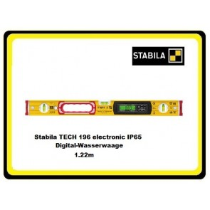 Stabila TECH 196 electronic IP65 Digital-Wasserwaage 1.22m